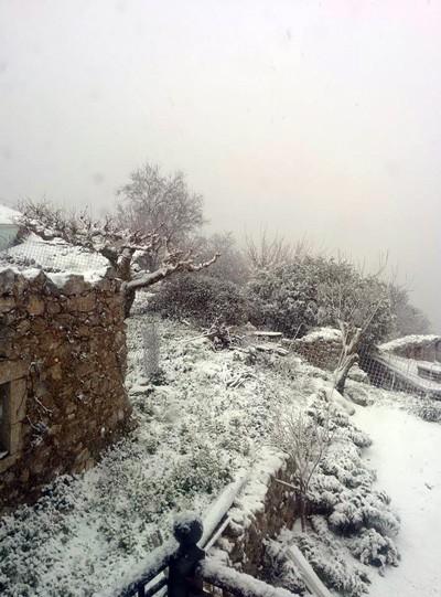 Снег на Кефалонии