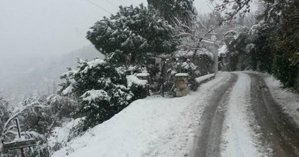 Снег на Скопелосе 2