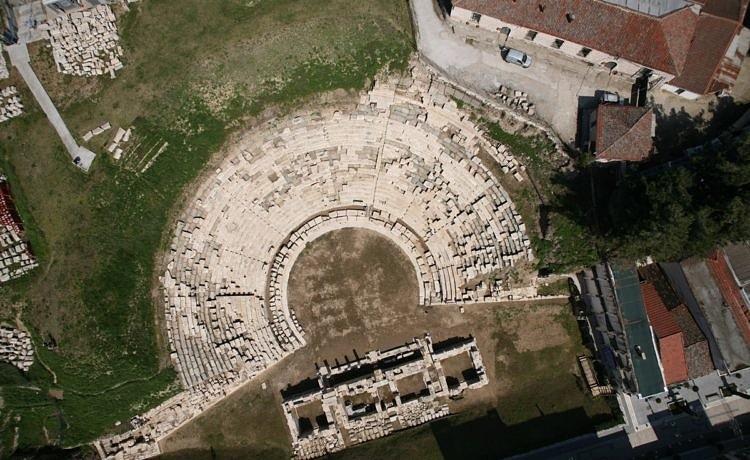 Древний театр Ларисы открылся для широкой публики