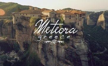 Монастыри Метеоры. Парящее видео