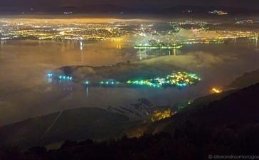 Ночь на озере Янина (видео)