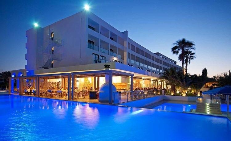 Обзор отеля Mitsis Faliraki на Родосе