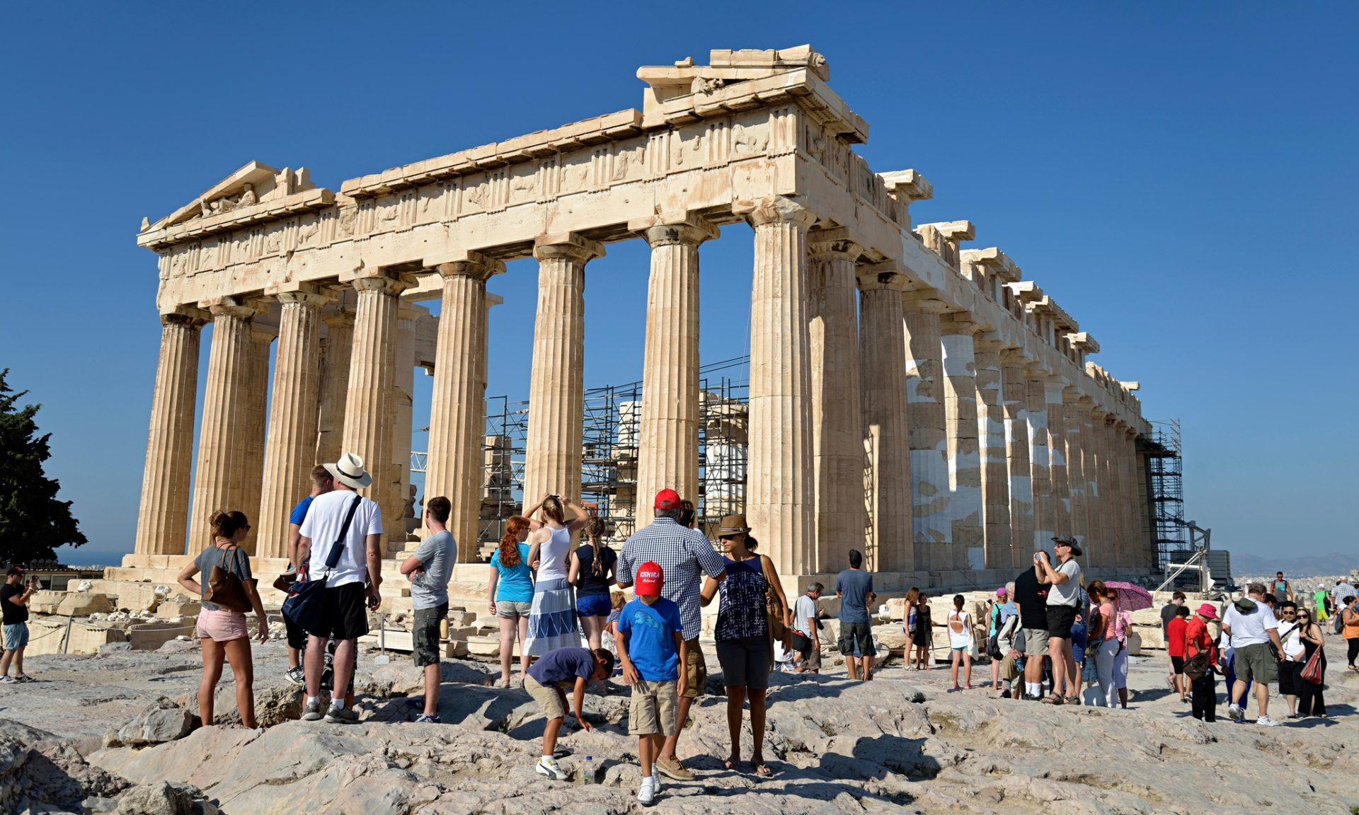 Экскурсия с детьми по достопримечательностям Греции