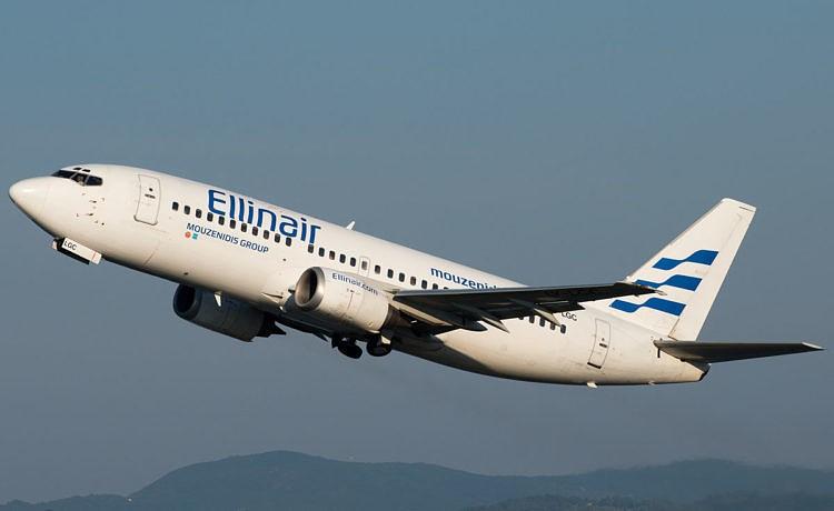 Ellinair анонсирует авиаперелеты с Крита на Санторини