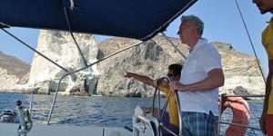 Морская прогулка на Санторини