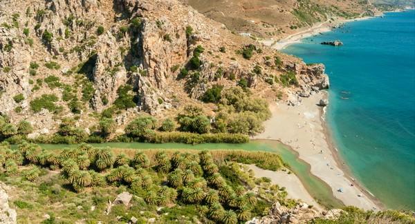 пляж Превели Крит
