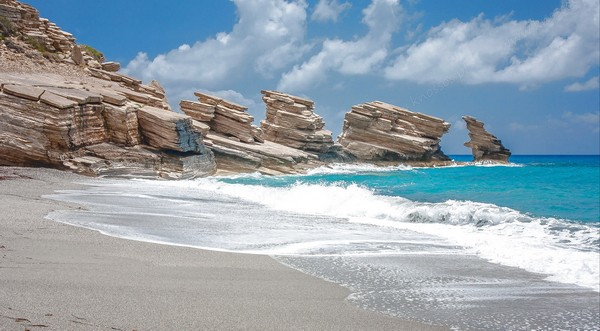 пляж Триопетра Крит