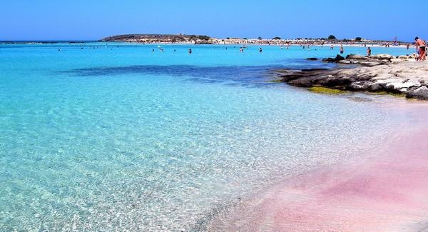Элафиниси пляж