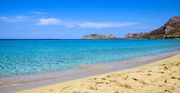 пляж Фаласарна Крит