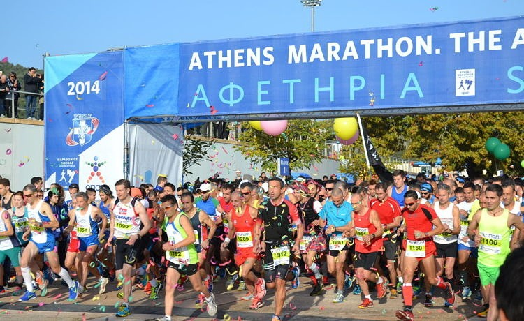 Обратный отсчёт до 34-го Афинского марафона