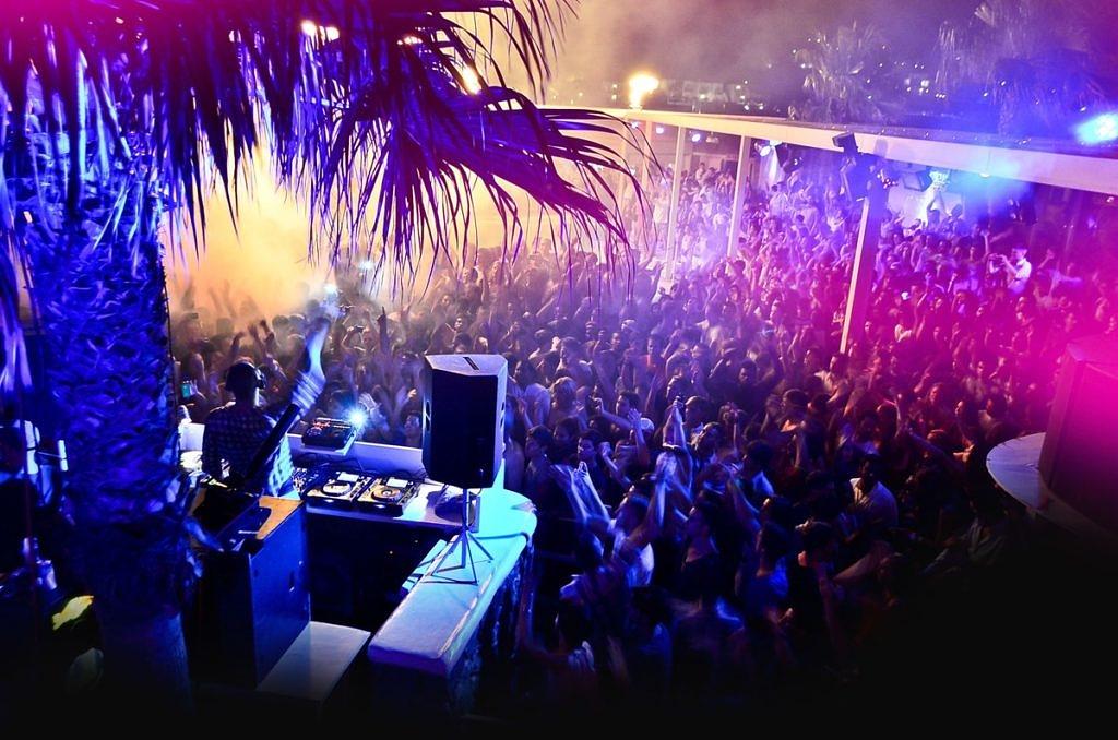 ночной клуб на Миконосе