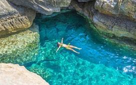Средиземное море насыщено солями