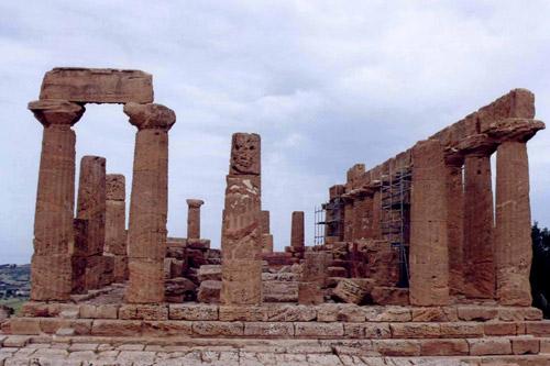 Архаичекий период - архитектура и скульптура