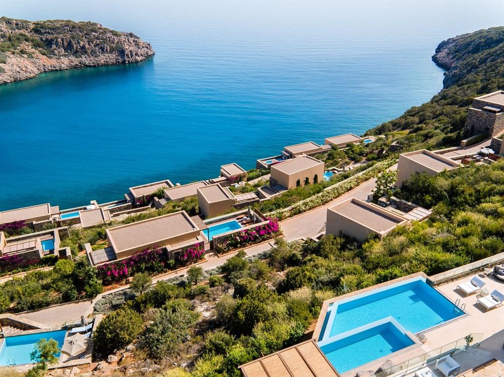 Шикарный люксовый отель в Греции Daios Cove Luxury