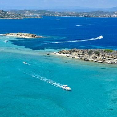 Острова Дрения - нетронутая природа полуострова Атос