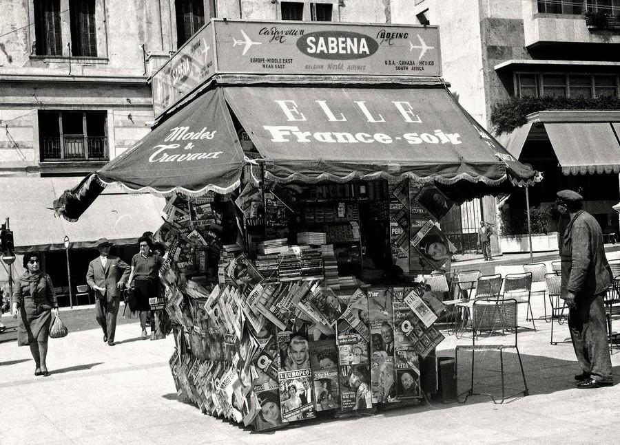 Знаменитые греческие киоски уходят в прошлое