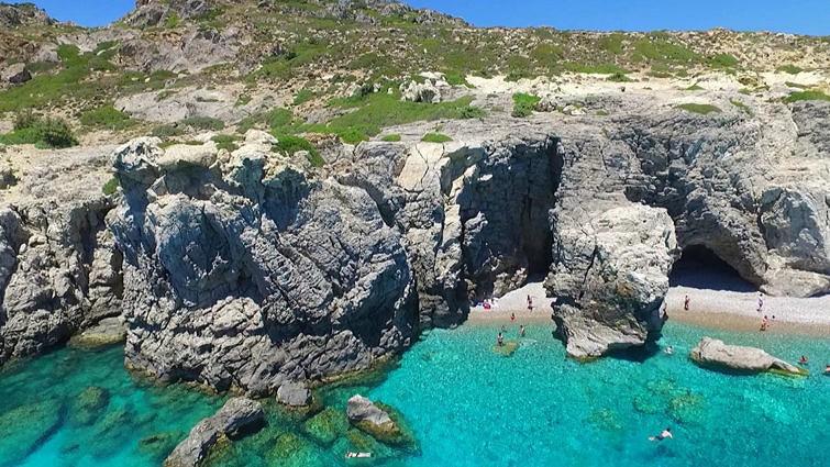 Пляж Афанду на острове Родос 3