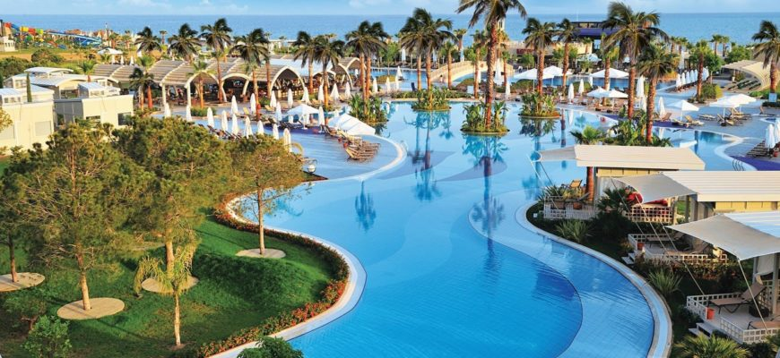 Susesi Luxury Resort. Турция