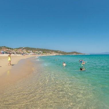 Сарти – пляжный курорт на Ситонии