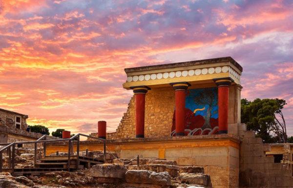 Кносский дворец — Ираклион — винодельня «Бутари»