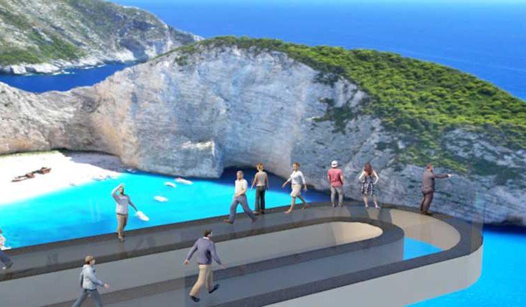 Пляж Навагио на Закинфе захотели реконструировать