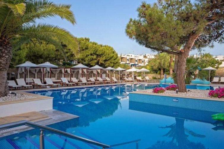 Theoxenia hotel pool