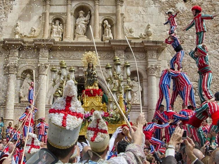 Праздник в Барселоне