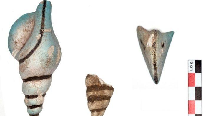 Древняя керамика из Тиры