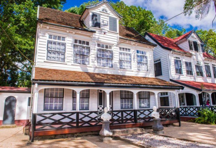 Парамарибо - столица Суринама