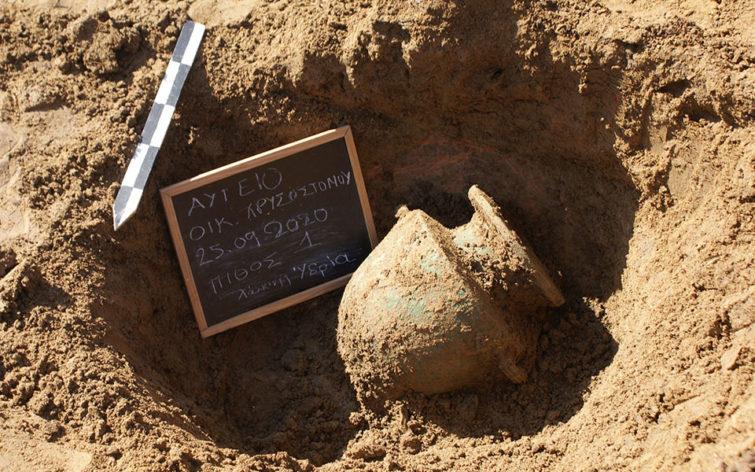 Археологические находки Греции 2020