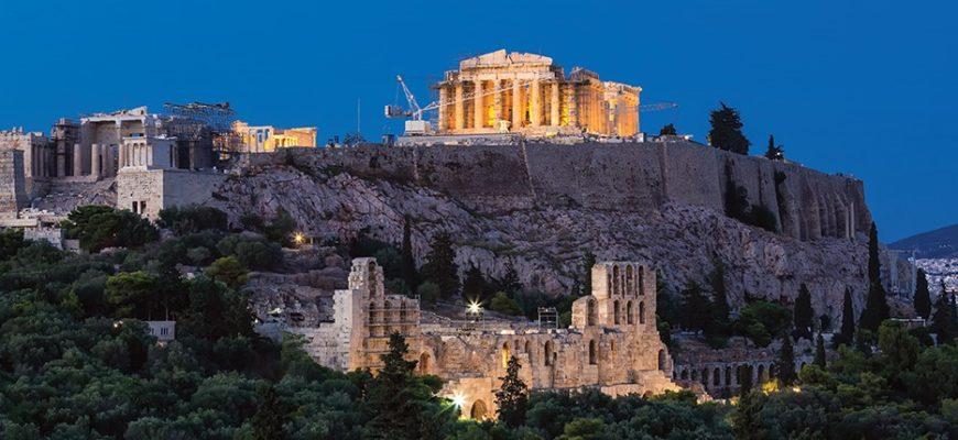 Афинский Акрополь - одно из лучших памятников в Древней Греции