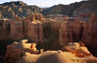 Чарынский каньон - достопримечательность в Казахстане