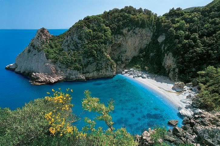 Полуостров Пилион (Пелион) в Греции