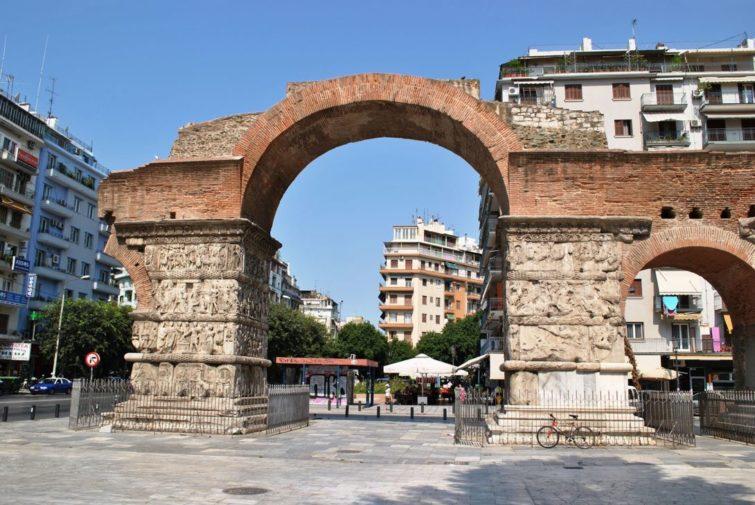 Салоники - Арка Галерия, в Греции