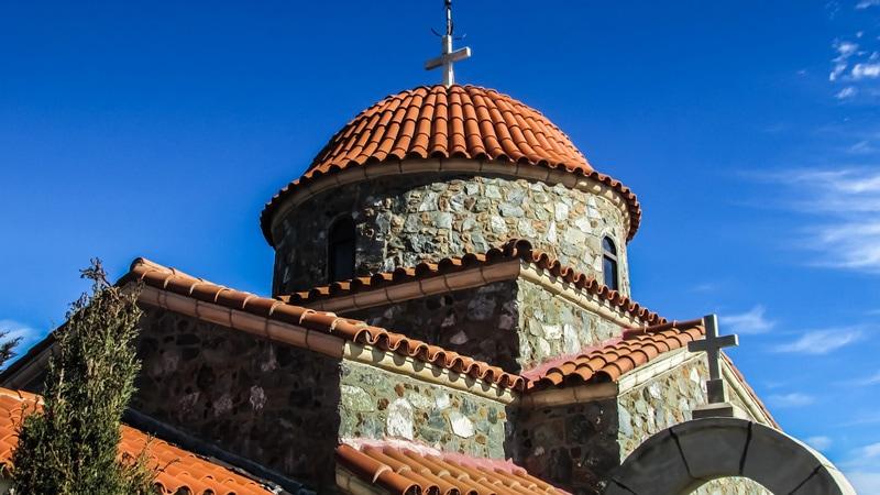 Монастырь Ставровуни, Кипр