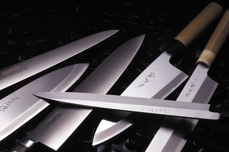 Виды японских ножей – из чего их производят